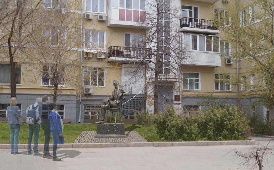 Памятник хотят установить на Ленинградской