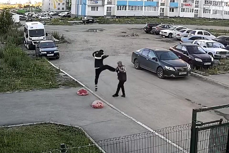 Фото: скрин с видео [В] Чурилово   Челябинск / vk.com