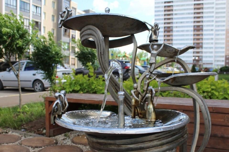Фонтанчики расположены в парках и скверах города. Фото: admkirov.ru