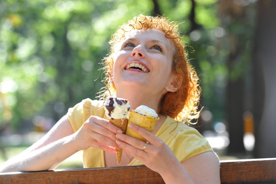 Как приятно в жаркий день съесть стаканчик или рожок!