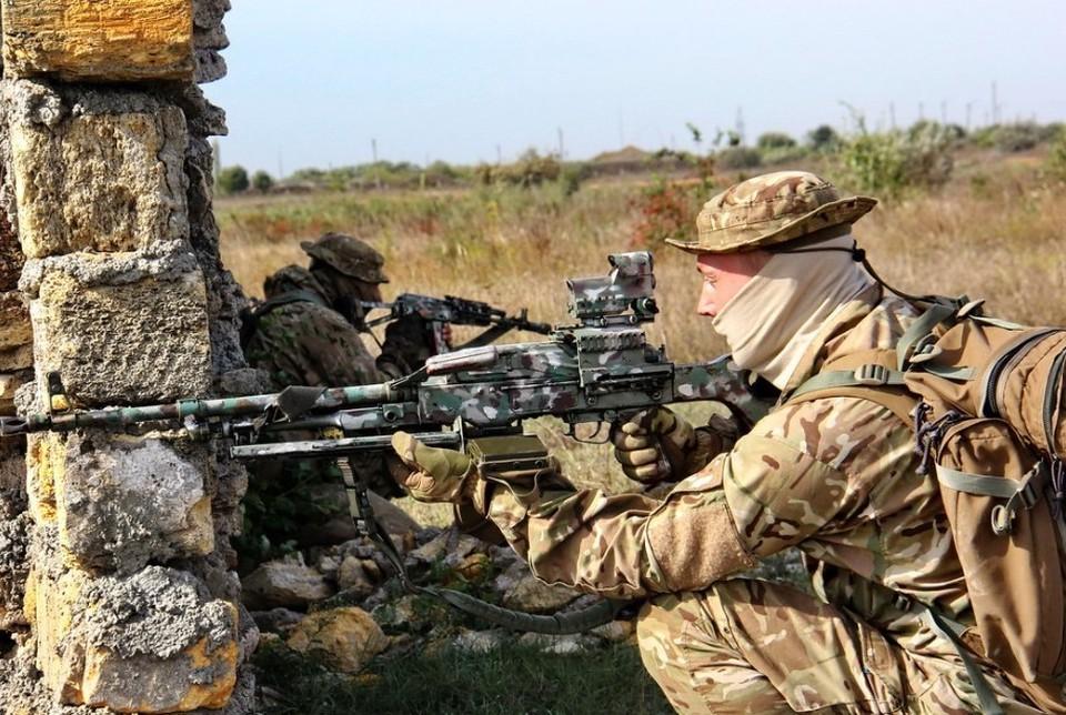 Боевики применили стрелковое оружие на линии соприкосновения в ДНР. Фото: архив Минобороны Украины