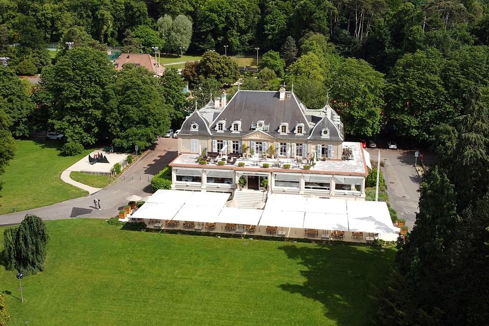 На левом берегу Женевского озера раскинулся один из лучших парков Швейцарии — Ла Гранж