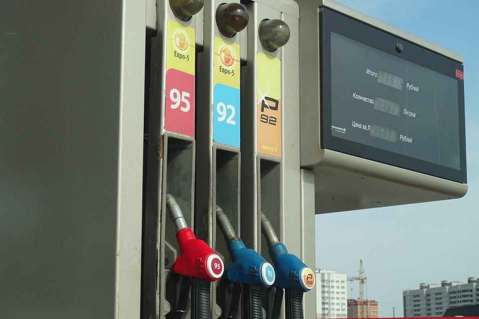 В Липецкой области поднялись цены на бензин и дизель