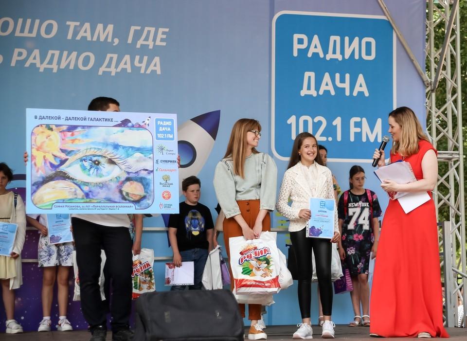В День защиты детей самарские юные таланты получили призы от партнеров конкурса рисунков