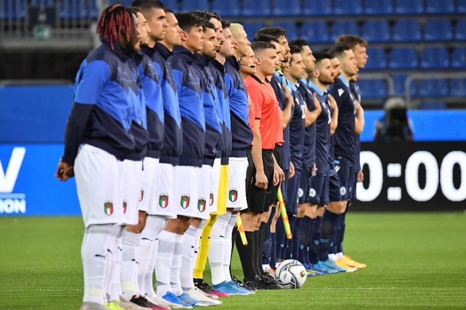 Сборная Италии готова к старту ЧЕ 2020.