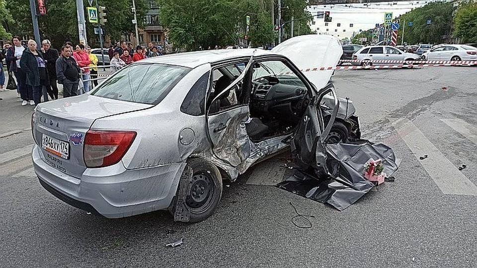 Пассажирка автомобиля LADA скончалась на месте происшествия
