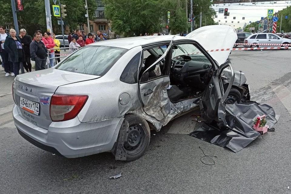 В результате аварии погибла пассажирка Lada