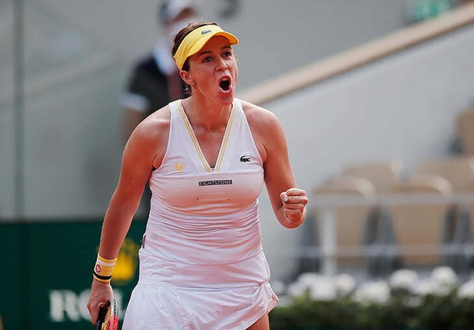 """Анастасия Павлюченкова уже выигрывала """"Ролан Гаррос""""... но как юниор."""