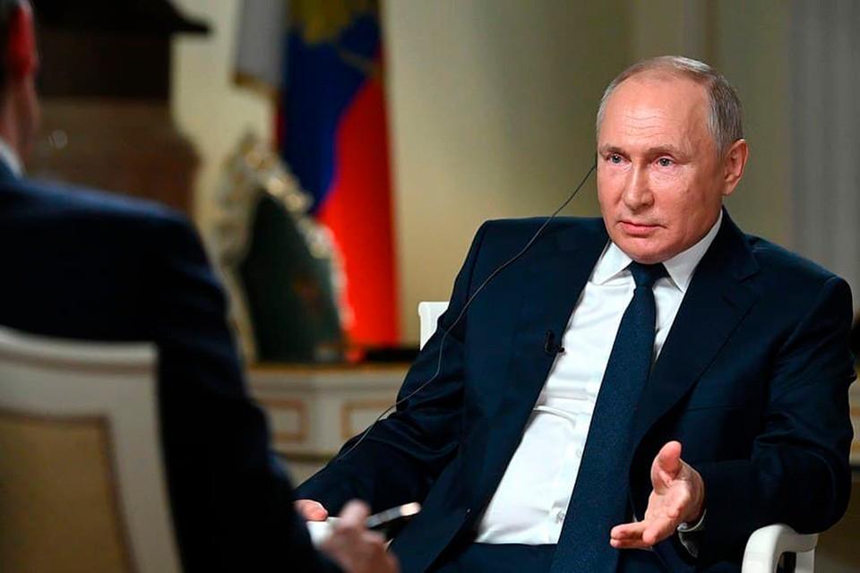 Владимир Путин ответил на вопросы журналиста NBC Кира Симмонса