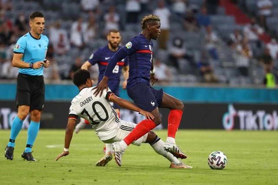 Сборная Франции обыграла Германию.