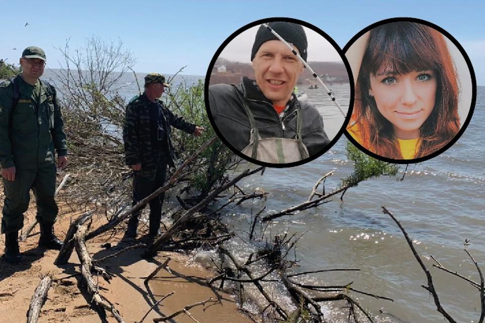В Приморье завершены поиски пропавших на озере туристов, к сожалению, итог их неутешительный. Фото: СУ СК по ПК/личные странички супругов в сети.