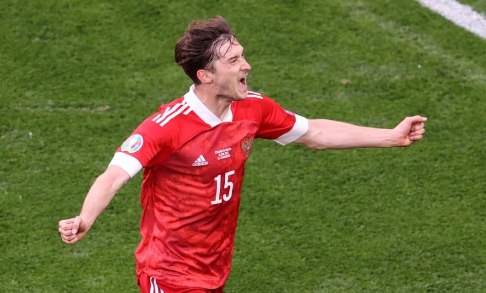 Миранчук - автор победного гола. Фото: reuters