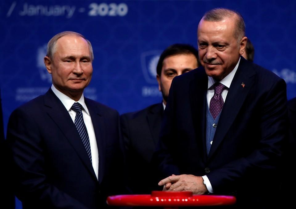Эрдоган заявил, что скоро встретится с Путиным