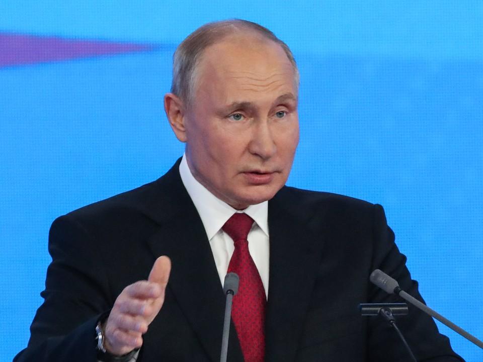 Владимир Путин. Фото: Сергей Карпухин/ТАСС