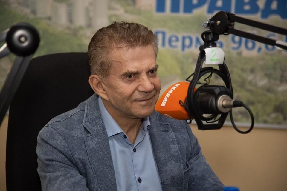 """Валерий Чупраков в гостях у радио """"КП-Пермь"""""""