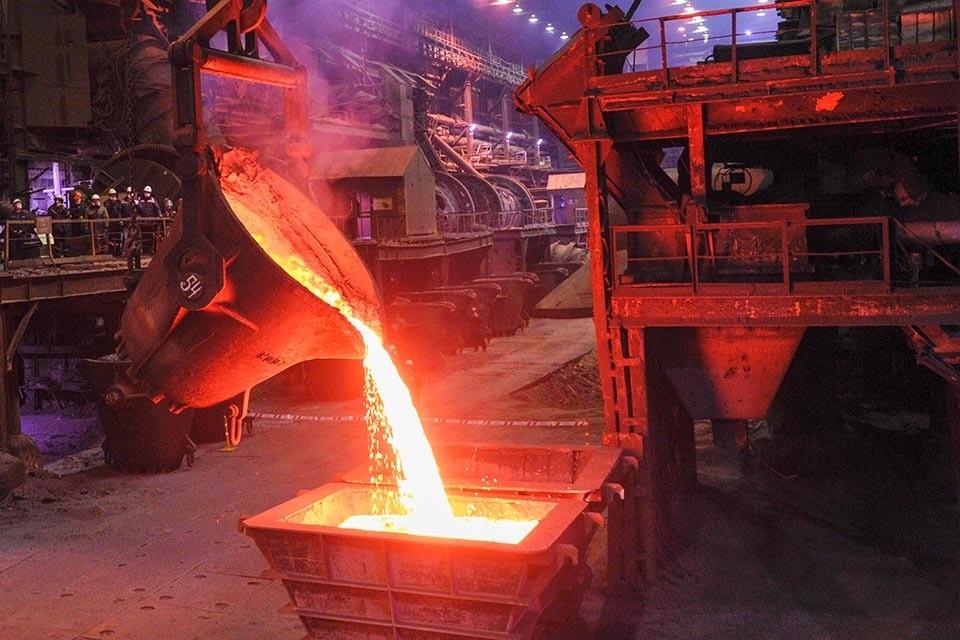 Компания «Норникель» сообщила, что приступила к производству первой партии никеля с нейтральным углеродным следом. Фото: Лев Федосеев/ТАСС