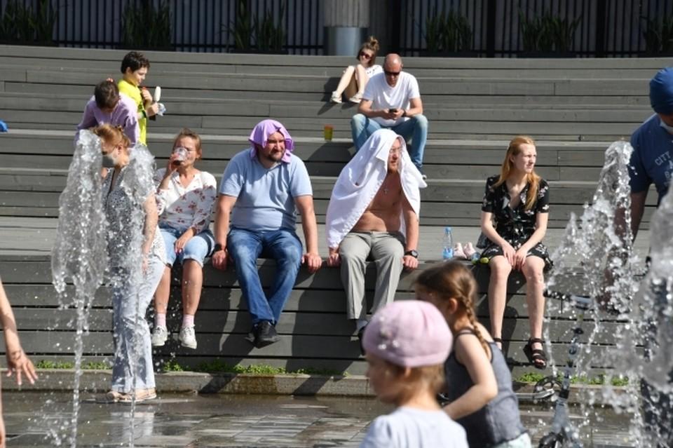 В Ростов пришла сильная жара
