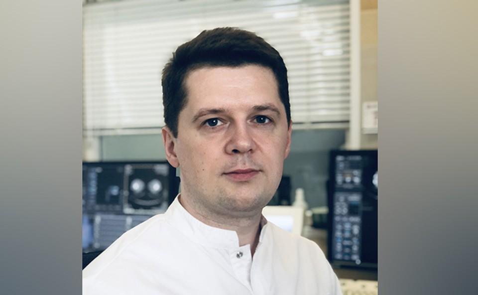 Руководитель службы КТ диагностического центра «Томоград», врач-рентгенолог Юрий Коритько.