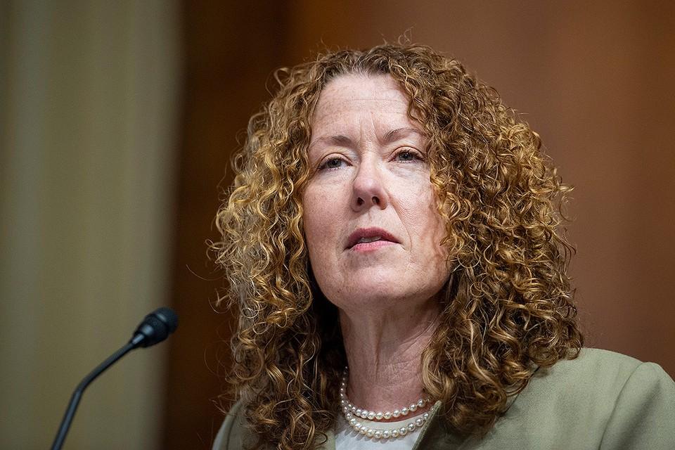 Candidata para el puesto de directora de la Oficina de Administración de Tierras de Estados Unidos, Tracy Stone-Manning.
