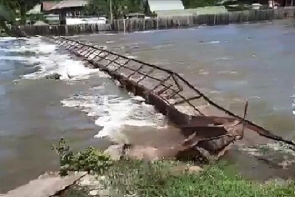 В минувшие выходные на Урал обрушились затяжные дожди. Фото: скриншот видео