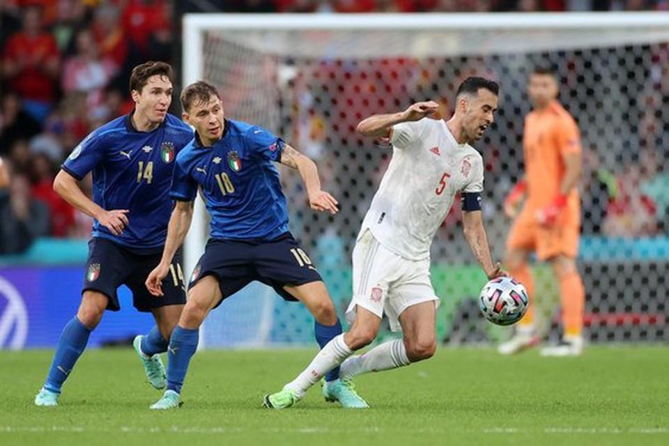 Сборная Италии завоевала путевку в финал Евро-2020.