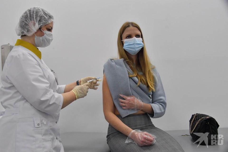 Минздрав: Рязанцев в основном прививают вакциной «Спутник V».