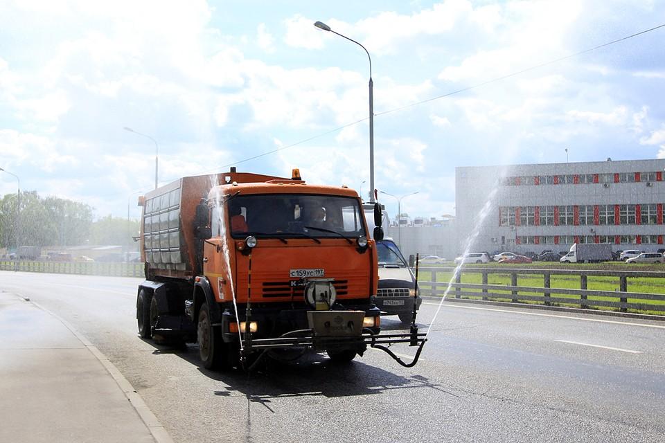 Аэрация помогает охладить нагревающийся от дорожного полотна воздух