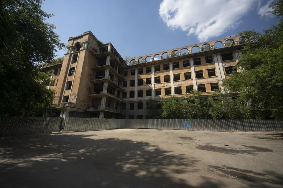 На месте заброшенной больницы планируют построить многофункциональный медицинский центр