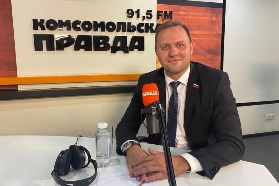 Депутат Думы Иркутска Алексей Кудрявцев. Фото: личный архив Алексея Кудрявцева