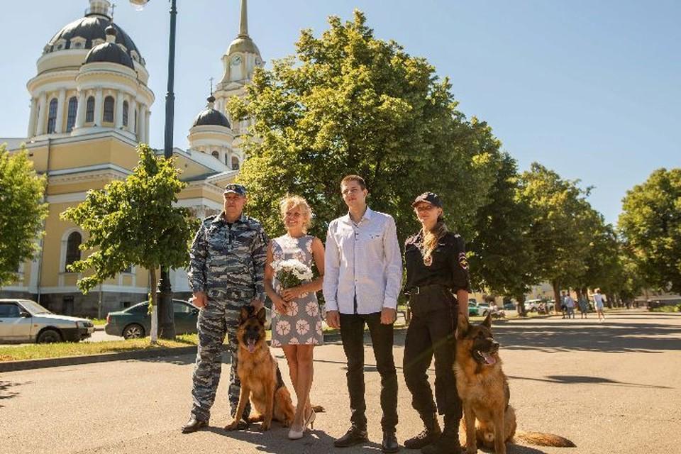 Семья Егоровых из Рыбинска.