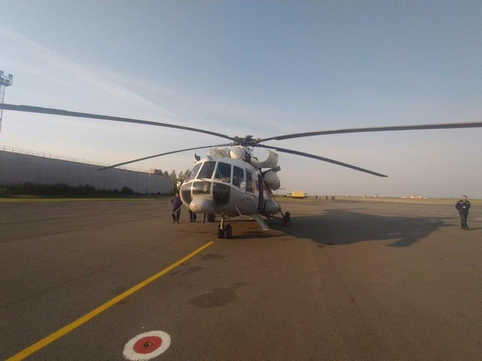 Горящие леса будут тушить с помощью самолета и вертолета. Фото: ГУ МЧС по Челябинской области