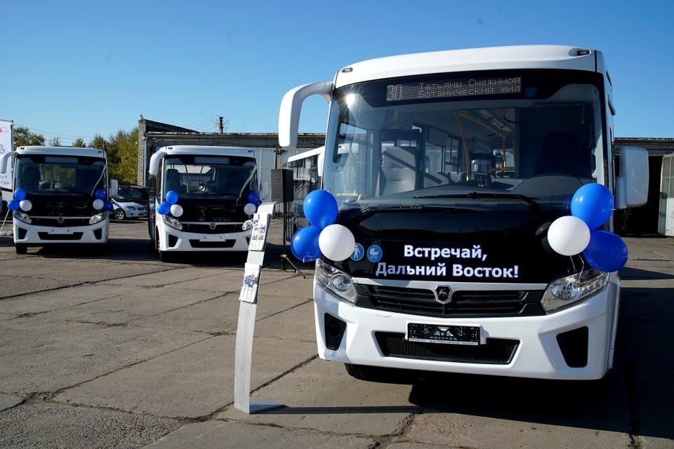 Хабаровские перевозчики закупили 53 новых автобуса
