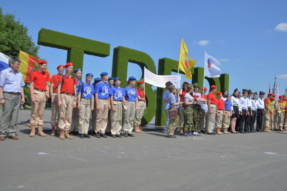 Участников проекта торжественно встречали на пристани в Твери Фото: администрация Твери