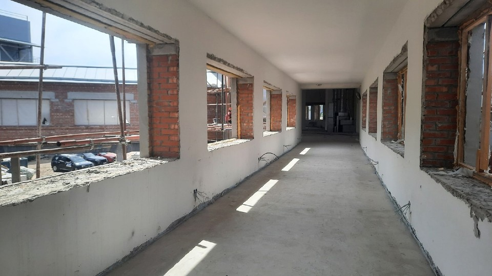 В на крыше здания Фабрики-кухни после реставрации сделают смотровую площадку