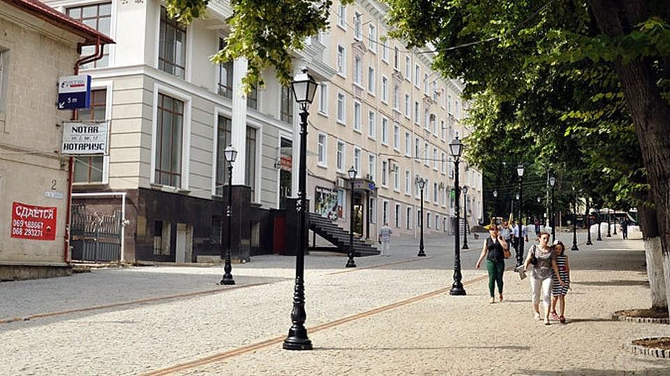 Привиться можно будет во время прогулки по пешеходной улице.
