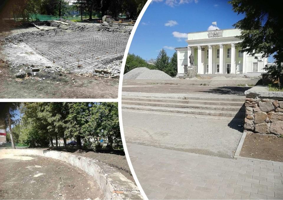 Скверы должны были благоустроить к 1 июля. Фото: прокуратура Челябинской области