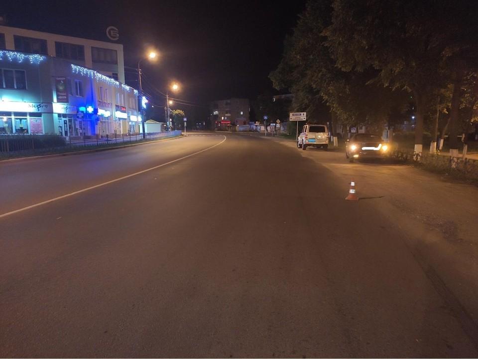 Пешеход-нарушитель очутился под колесами
