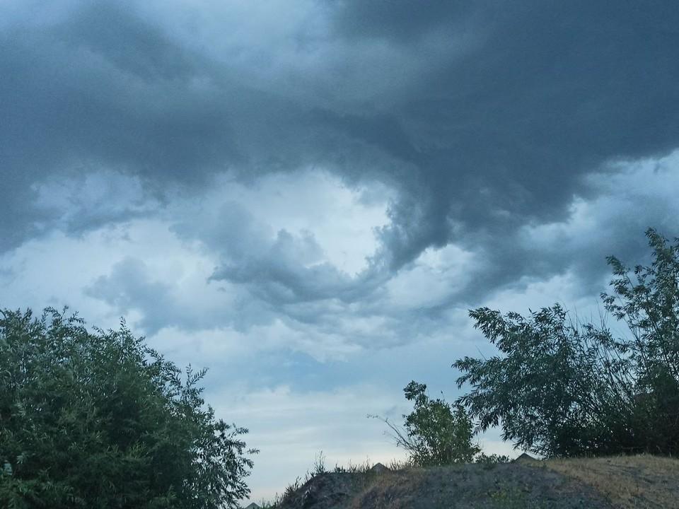 В регион снова пришла непогода