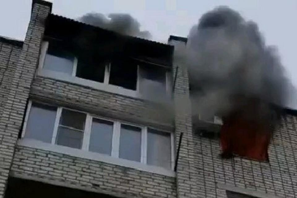 В Артеме огнеборцы ликвидировали пожар. Фото: Инстаграм / artem.news.plus