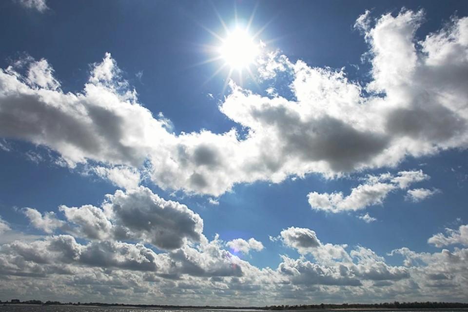 В воскресенье будет переменная облачность, но солнце все равно раскалит воздух