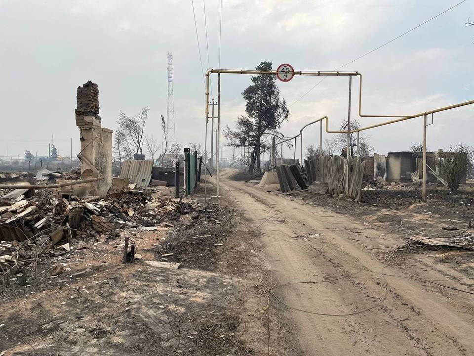 В поселке Джабык, который пострадал больше всего, эвакуировано проживает 738 человек. Фото: читатель КП
