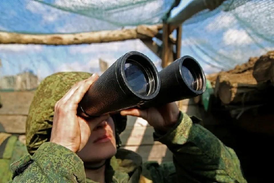 Военных учат немедленно приступать к решению боевых задач в соответствии с обстановкой