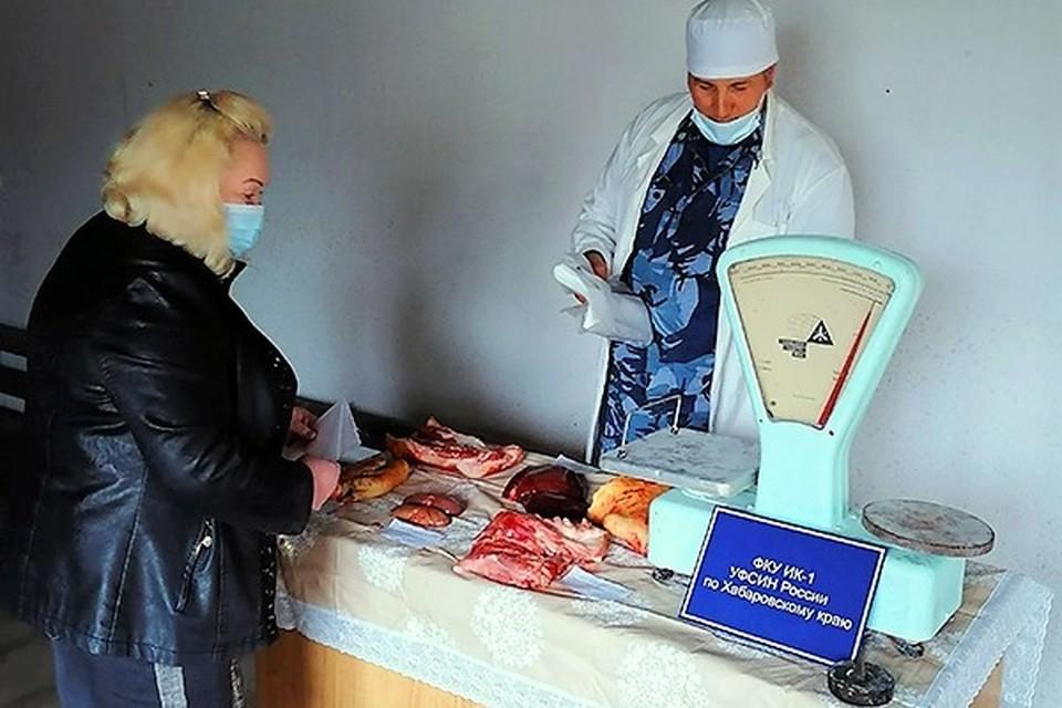 Свинина, выращенная заключенными Хабаровского края, пользуется большой популярностью