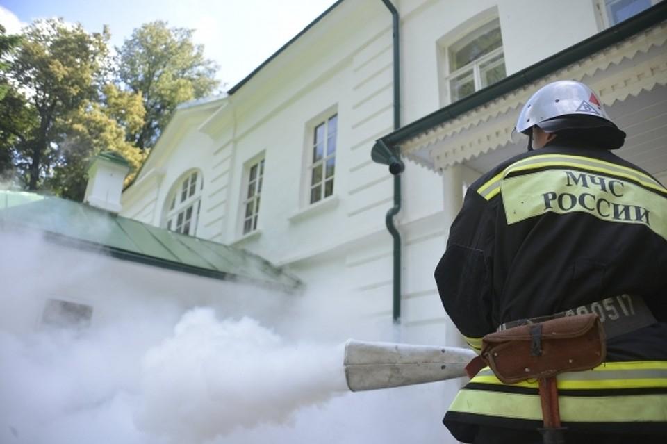 В пожарно-спасательную службу Усть-Вымского района поступило сообщение о возгорании в квартире