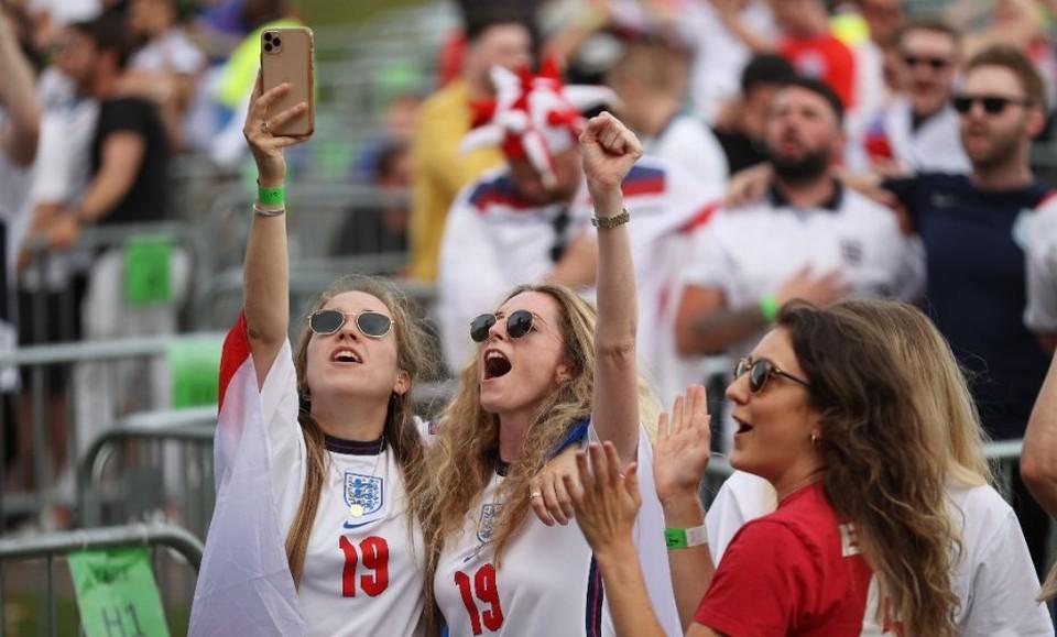 """Большинство болельщиков на """"Уэмбли"""" будут англичане. Фото: Reuters"""