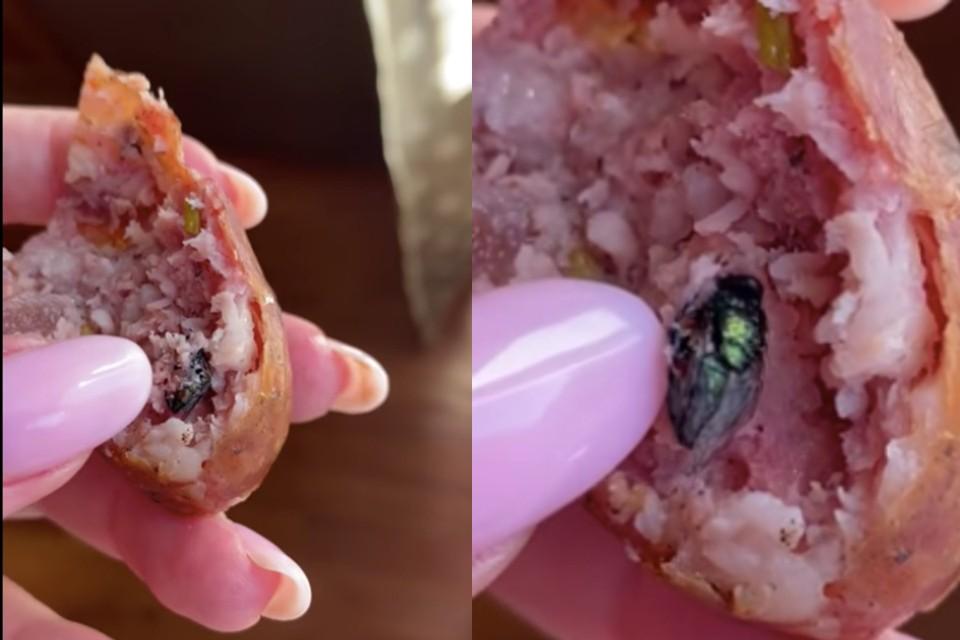 Женщина заказала колбасу через интернет. Фото: предоставлено Светланой Бойчук