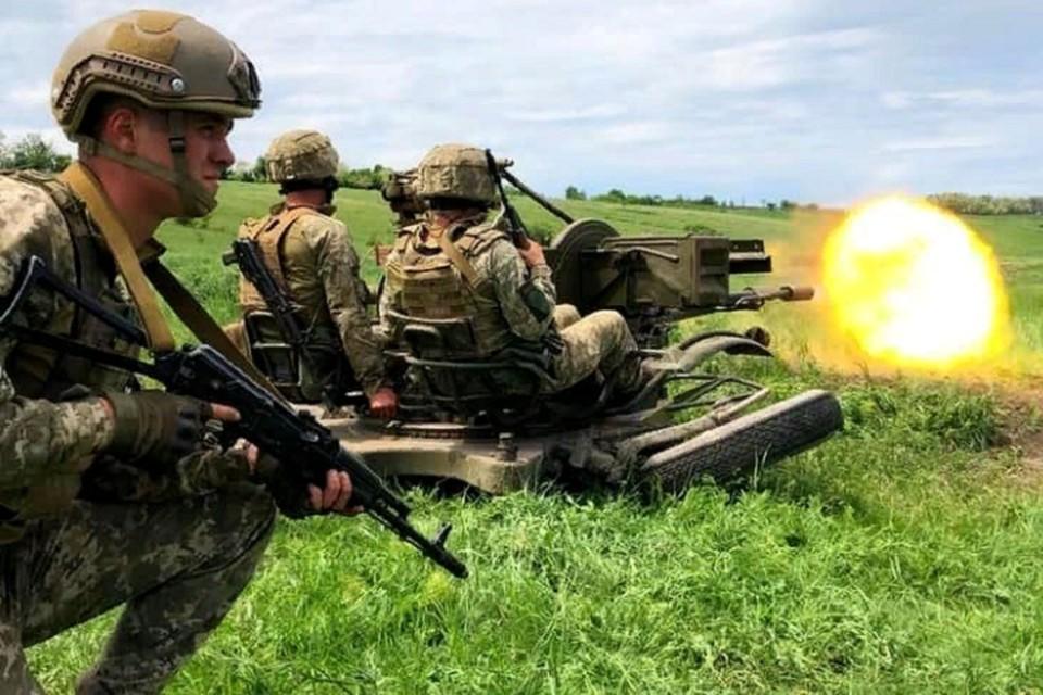 За прошедшие сутки территория ДНР подверглась украинским обстрелам три раза. Фото: штаб «ООС»