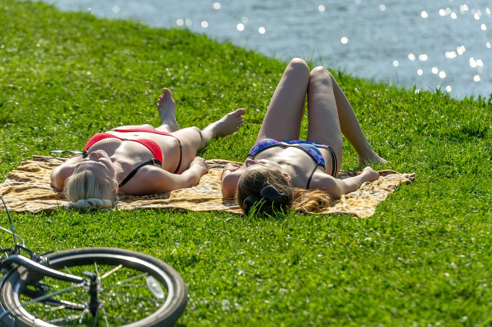 В городе вновь ожидается аномальная жара