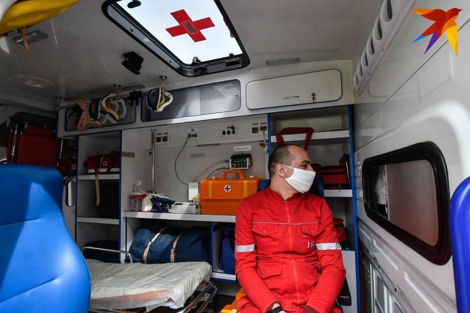 В Терском районе сейчас есть одна машина скорой помощи.