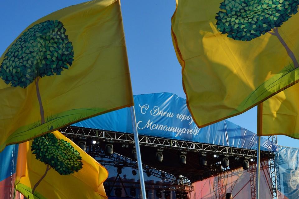 Липецк украшают флагами